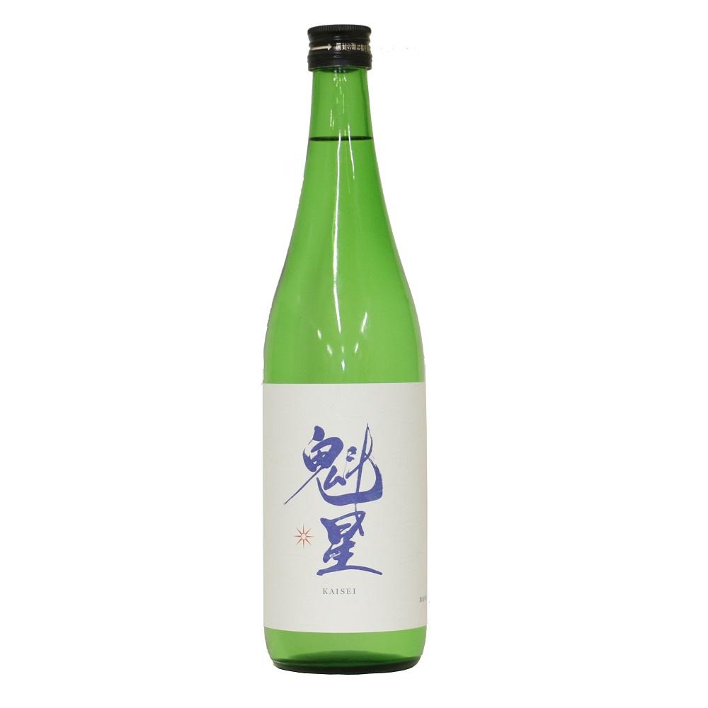 魁星(かいせい) 純米吟醸原酒 720ml瓶詰