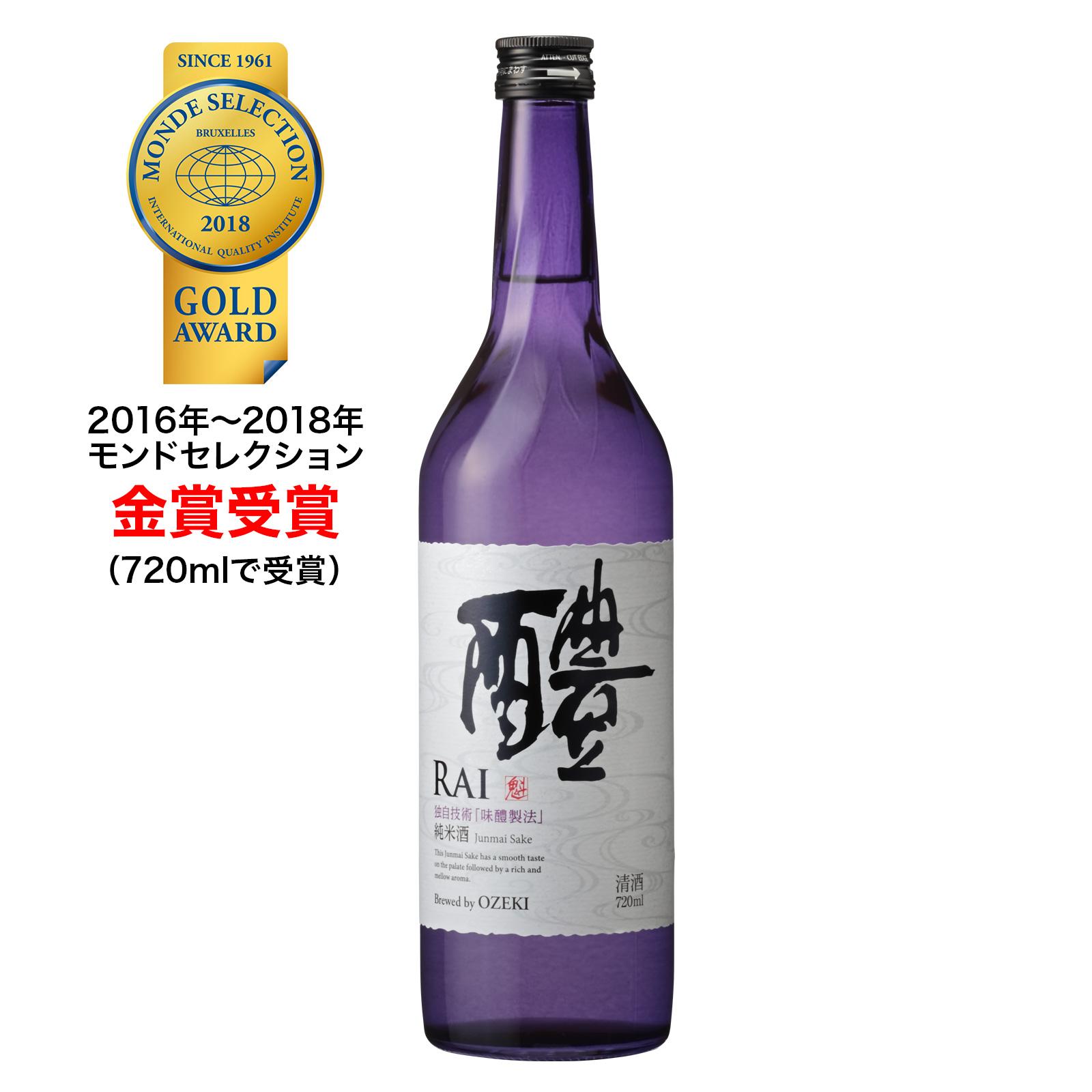 純米酒 醴(RAI)720ml