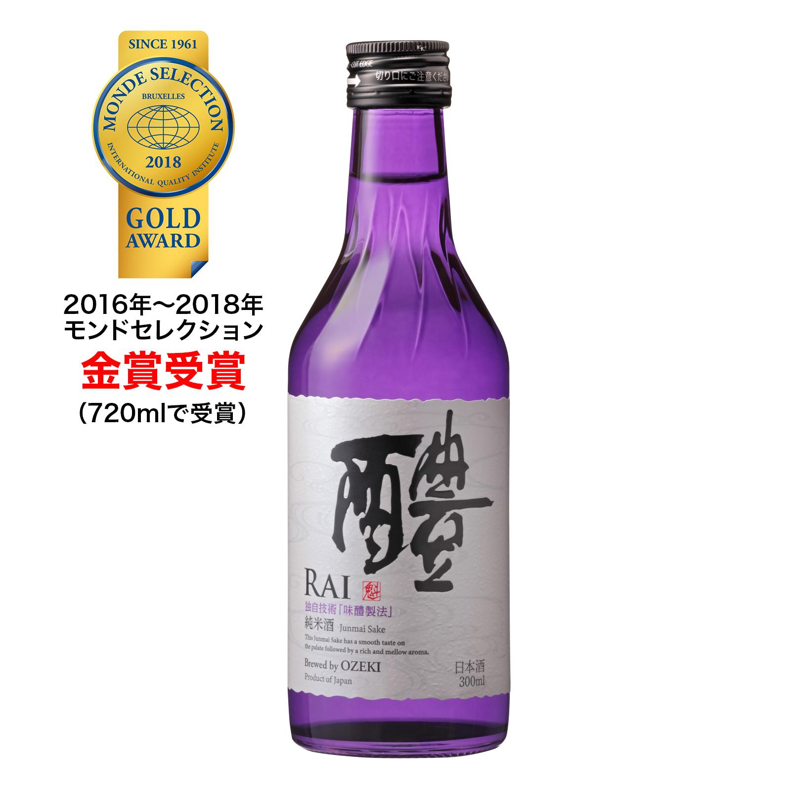 純米酒 醴(RAI)300ml×12本