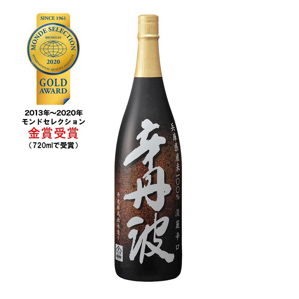 上撰 辛丹波(からたんば)1.8L瓶詰