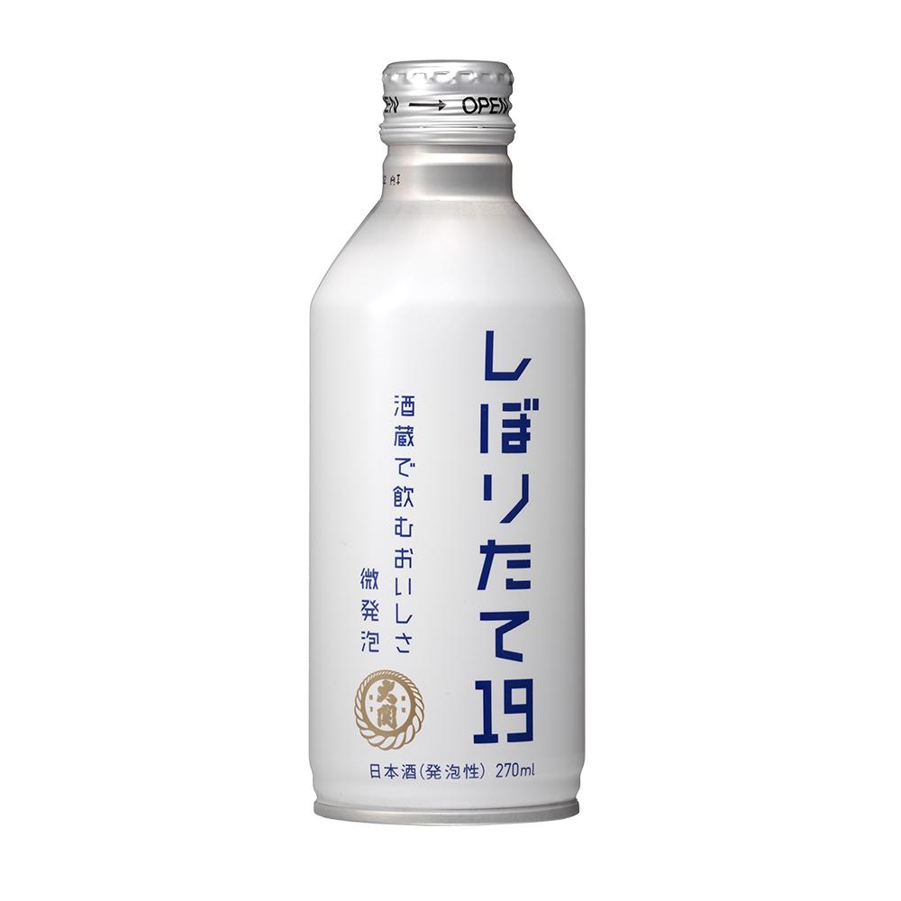 しぼりたて19%微発泡 270ml ボトル缶詰