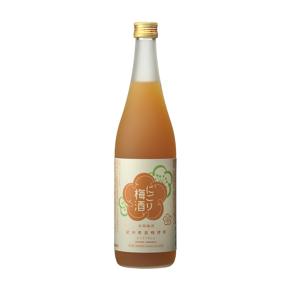 にごり梅酒 720ml瓶詰