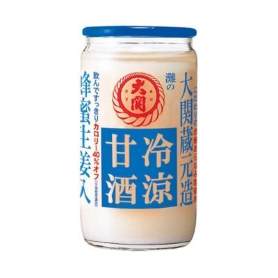 【季節限定】大関 冷涼甘酒180g瓶×30本(清涼飲料水)