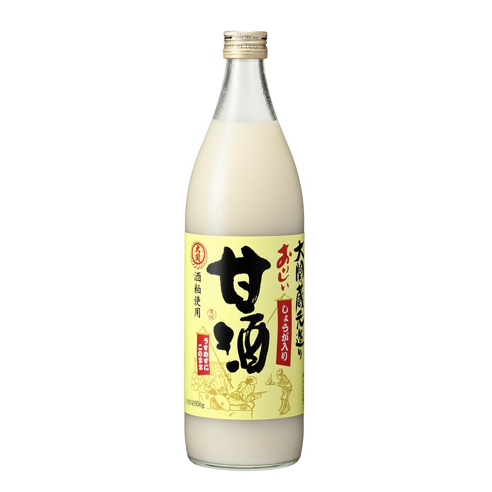 大関 おいしい甘酒【生姜入り】950g瓶×6本(清涼飲料水)