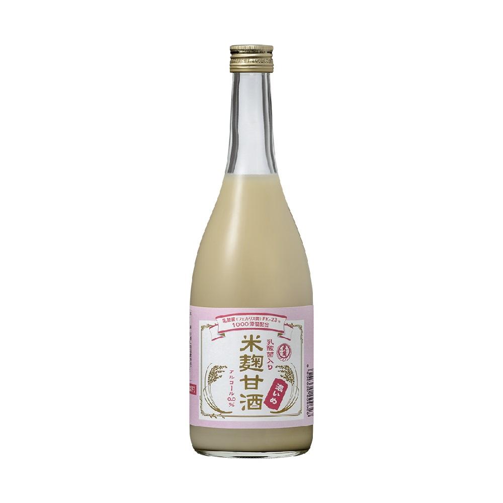 乳酸菌入り米麹甘酒 濃いめ 770g×6本