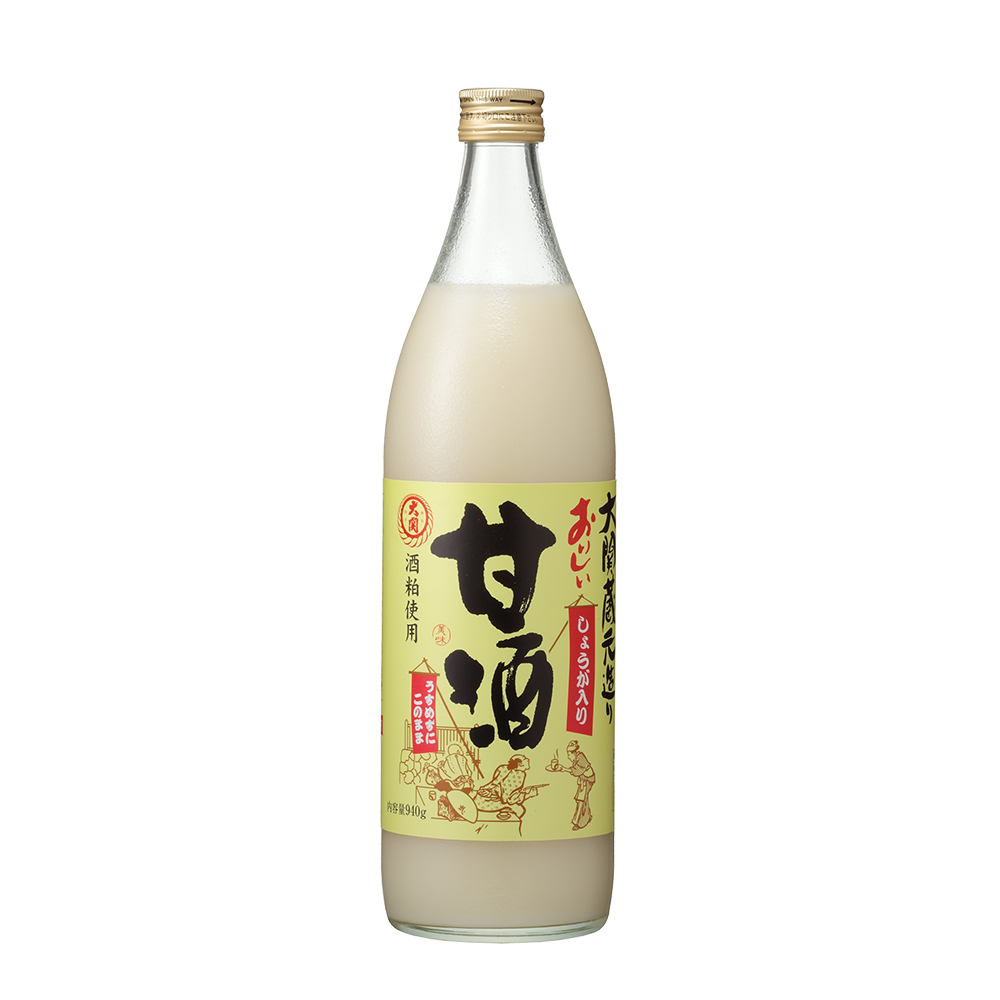 大関 おいしい甘酒【生姜入り】940g瓶×6本(清涼飲料水)