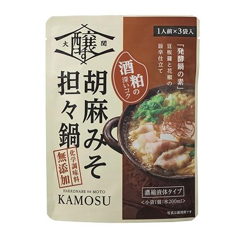 大関醸す 発酵鍋の素 胡麻味噌坦々鍋